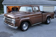 1958 Ford Trucks - chocolate brown