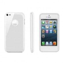 Housse iPhone 5C Muvit - Gel Blanc  9,99 €