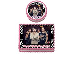 5 SOS 5 Seconds of Summer Birthday Party Edible Cake Topper Cupcake Personalized Custom Made by DisneyMomTn on Etsy
