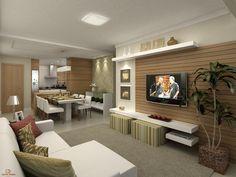 decoracao de apartamentos salas - Pesquisa Google