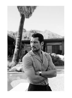 David Gandy photographed by Blair Getz Mezibov and styled by Grant Woolhead, for the February 2015 issue of Out magazine. David Gandy photographed by Blair Getz Mezibov and styled by Grant Woolhead, for the February 2015 issue of Out magazine. David Gandy, Gq Style, Famous Male Models, Out Magazine, Male Magazine, Magazine Covers, Le Male, New Romantics, Dolce E Gabbana