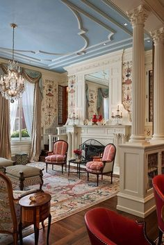 50 Victorian Living Room Decor 6