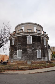 Abandoned round house, Somerville