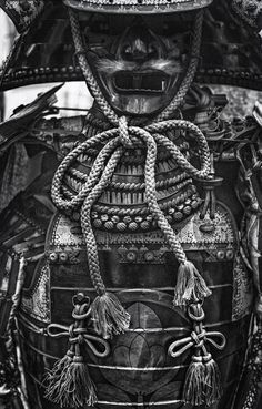 Phantom Warrior 2 (BW Film Noir) by Jon Sheer on Suit of samurai armor for sale at the flea market outside of the Tokyo International Forum in Yurakucho, Tokyo, Japan. A manly man's suit of samurai armor! Kendo, Japanese Culture, Japanese Art, Japanese Dragon, Japanese Style, Samourai Tattoo, Ronin Samurai, Armor For Sale, Samurai Artwork