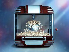 Dribbble - Popcorn machine by CrazyNik