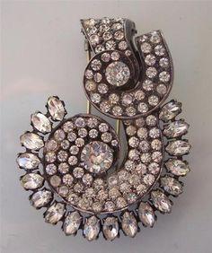 Fabulous Early Eisenberg Original Swirl Fur Clip Sterling Brooch Pin   eBay