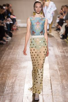 Maison Margiela Fall 2014 Couture Fashion Show - Manuela Frey (Elite)