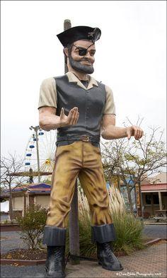Jolly Roger amusement park at Ocean City. A highlight of any OC vacation!