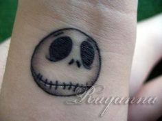 My Jack Skellington Tattoo. by ~RayannaBanana on deviantART