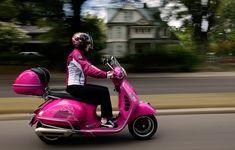 Pink Vespa GTS !!