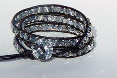 Leather Wrapped bracelets!