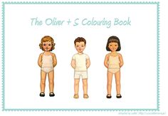 Children can have fun coloring in this Oliver + S coloring book, a free PDF download.