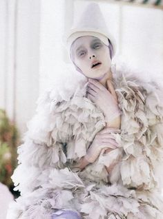 Olga Sherer in photographed by Tim Walker for Vogue Italia January 2008
