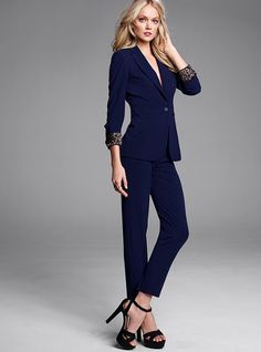 Double Breasted Suit Womens Dress Yy