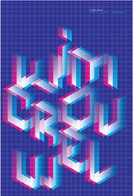 David Pidgeon A Graphic Odyssey Poster  Designed by David Pidgeon, 2011
