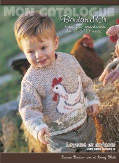 Catalogue layette & enfant HS n°15 › Layette › Catalogues › Laines Bouton d'Or