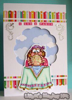 Lilibet's Monkey Hut.: Mystic Mabel predicts...