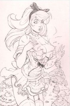 Disney art drawings artworks fairy tales 20 New Ideas Sexy Drawings, Disney Drawings, Art Drawings, Drawing Disney, Character Art, Character Design, Drawn Art, Sexy Cartoons, Disney Tattoos