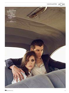'Nouveau Western': Alex Turner para GQ Francia Septiembre 2014