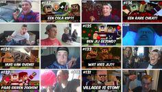 Top 10 bekende YouTubers van Mijn Kind Online.