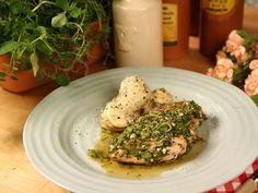 Grillad kycklingfilé med chimichurri (kock Tommy Myllymäki)