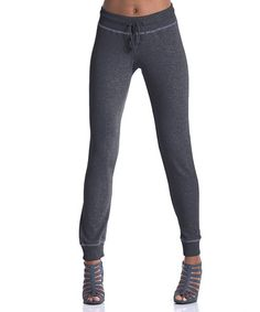 Take a look at this Charcoal Lodgepole French Terry Sweatpants by lur® on #zulily today!