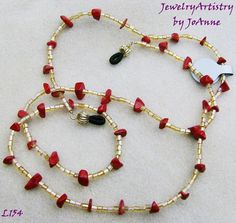 Handmade Eyeglass Chain/Lanyard  Beautiful by JewelryArtistry, $12.00