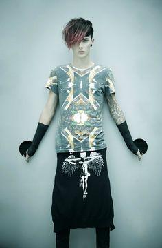 christian dada, 2012 ss Tokyo menswear