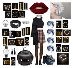 """Love Me Tomorrow"" by agustinacha on Polyvore featuring moda, Fogal, Carven, H&M, Alisa Smirnova, Bling Jewelry, Lime Crime, Seletti, Pomellato y Daniel Wellington"