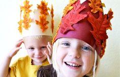Thanksgiving harvest crowns