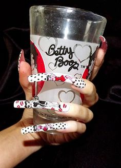 More of Betty Boop.. by Clair_Bennett - Nail Art Gallery nailartgallery.nailsmag.com by Nails Magazine www.nailsmag.com #nailart