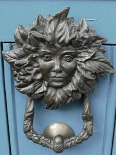 Detailed Doors To Drool Over ♅ Art Photographs Of Door Knockers, Hardware U0026  Portals   Face Knocker.