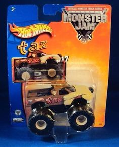 Amazon.com: 2002 Hot Wheels Monster Jam Metal Collection #7 TAZ 1:64 Scale Collectible Truck: Toys & Games