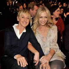 Ellen & Portia.  They are adorable...