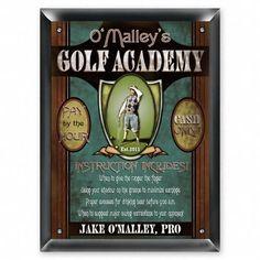 Sign - Golf Academy