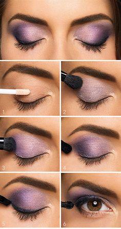 Lovely Purple Eyeshadow Tutorial