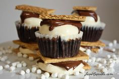 20 S'more Recipes {Happy S'mores Day!} - Cupcake Diaries
