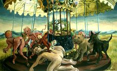 Carousel Oil Paintings | Painter - Portraits - Watercolor - Drawing - Nudes - Pencil - Charcoal ...