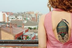 tattoo shop called Aloha in Barcelona, Spain, by El Carlo.