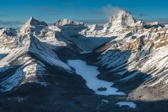 A Spectacular Helicopter Tour with Exclusive Snowshoeing in the Canadian Rockies - @theplanetd