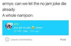 Namjoon's masterpiece joke