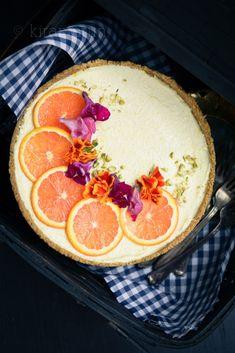 Orange Shrikhand Tart   @KiranTarun http://kirantarun.com/food