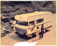 Vintage 1966-style Winnebago 'Brave' motor home - production ...