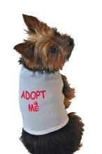Ruff Ruff And Meow Dog Tank Top Adopt Me White Extra-large by Ruff Ruff & Meow - at www.buydogsweaters.com   $19.73  Save 1%
