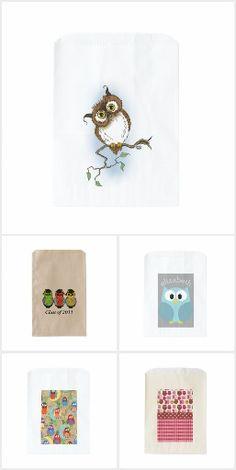 Owls Favour Bags