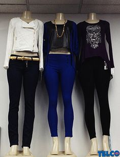 What's your favorite #falltrend? We love skinny jeans, jackets, and cropped tops! #telcostores