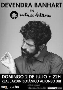 Devendra Banhart acturará en Madrid el 2 de Julio