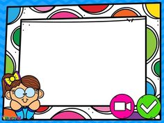 Page Borders, Borders And Frames, School Cartoon, Cartoon Kids, Google For Kids, Google School, Powerpoint Background Templates, Diploma Online, Frame Layout