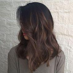 #brunette #wavy #t3micro
