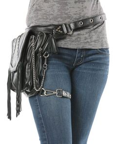 Warrior Pack Inferno 8-Way Bag - Black | Warrior Creek - Unique Fashion Accessories